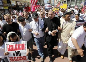 CatholicMahonyProtestAZImmigrationLaw