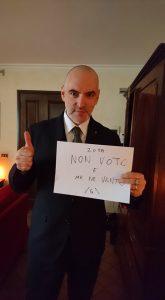 io non voto