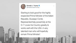 Trump-tweet-Giuseppi-Conte